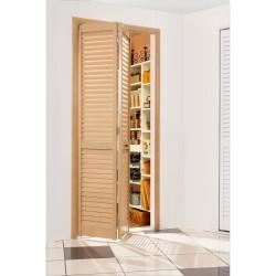 Дверь жалюзийная дуб старый 803мм