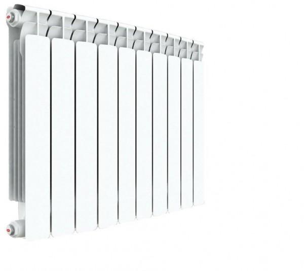 радиатор биметаллический rifar a500 10 секций (гл. 75 мм) (россия) биметаллический радиатор rifar рифар b 500 нп 10 сек лев кол во секций 10 мощность вт 2040 подключение левое