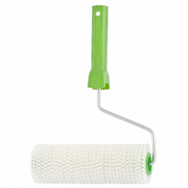 валик игольчатый для наливных полов с ручкой сибртех 200мм сандалии для наливных полов stayer 11191