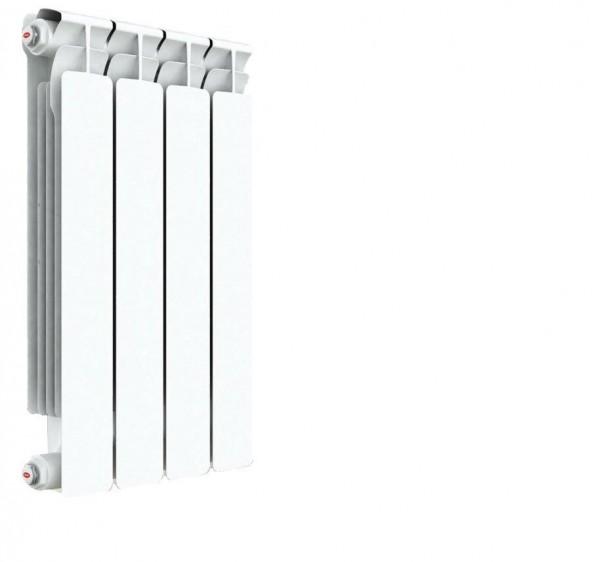 радиатор биметаллический rifar a500 4 секций (гл. 75 мм) (россия) биметаллический радиатор rifar рифар b 500 нп 10 сек лев кол во секций 10 мощность вт 2040 подключение левое
