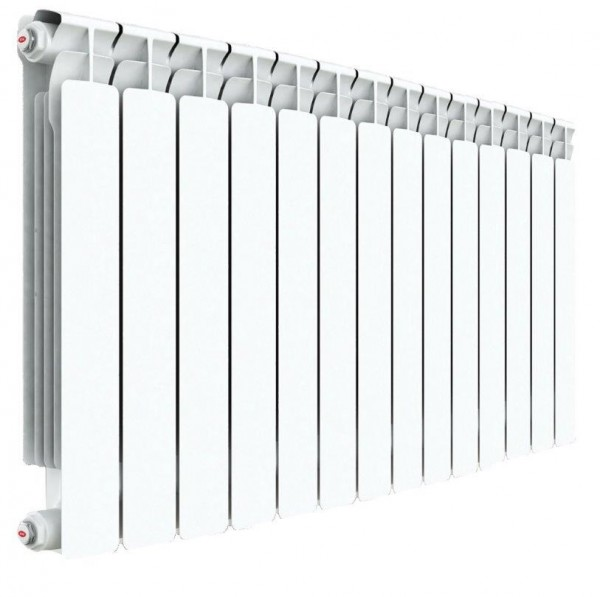радиатор биметаллический rifar a500 14 секций (гл. 75 мм) (россия) биметаллический радиатор rifar рифар b 500 нп 10 сек лев кол во секций 10 мощность вт 2040 подключение левое