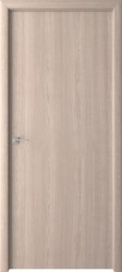 Полотно дверное глухое 80x200см, ламинация, цвет беленый дуб