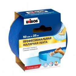 Лента малярная проф. для наружных работ 50мм*25м 89343