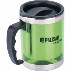 Термокружка с крышкой-поилкой в пластиковом корпусе, 300мл PALISAD Camping
