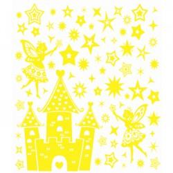 Стикер 8322 RDA Замок с феями