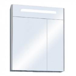 Шкаф зеркальный Акватон СИЛЬВА 60см Дуб Фьорд 1A216202SIW60