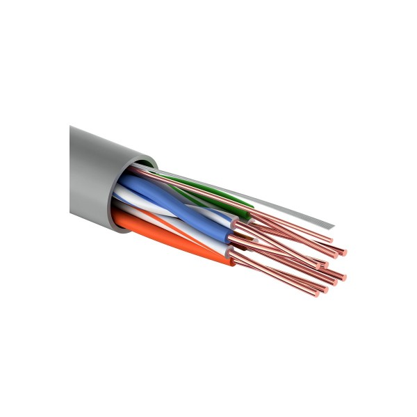 кабель utp 4pr 24awg cat5e 25м rexant