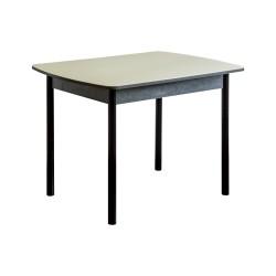 Стол обеденный  Кристалл (1,0х0,7х0,75) венге, беж. стекло