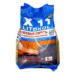 Клей для плитки усиленный LITOKOL Х11, 5 кг
