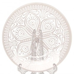 Тарелка из закаленного стекла 195мм Pasabahce БОХО 10327SLBD43