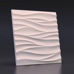 Панель гипсовая 3D Острые Волны