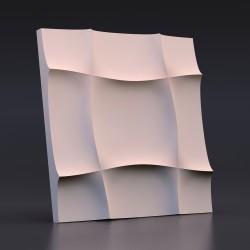 Панель гипсовая 3D Мягкий Квадрат