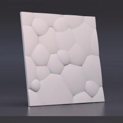 Панель гипсовая 3D Пузыри
