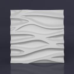 Панель гипсовая 3D Каскад