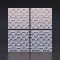 Панель гипсовая 3D Множественные Пересечения