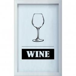 Накопитель для винных пробок 29x45 WINE белый KD-022-118