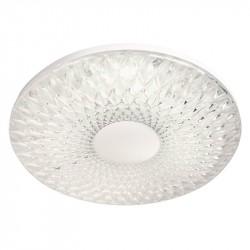Светильник настенно-потолочный Ambrella light Orbital Crystal Sand FS1230 CL 48W D480 Белый LED