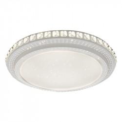 Светильник настенно-потолочный Ambrella light Orbital Crystal F92 104W D600 Белый LED