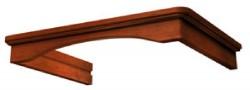 комплект багетов для Adelia 600 CPB/G1/3 (темн.орех) в упаковке
