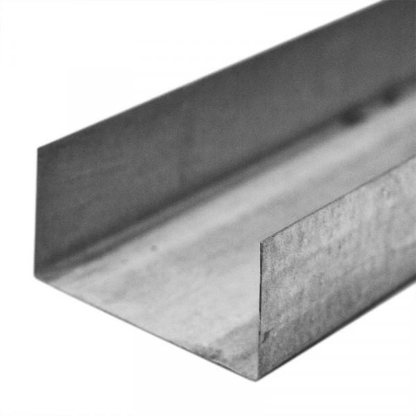 профиль направляющий (пн) гипрофи стандарт 75 х 40 мм, 3 м профиль направляющий gyproc ультра пн 50x37x3000 мм