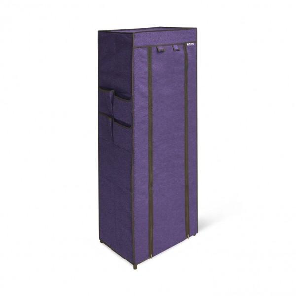 стеллаж sheffilton sht-ss15-p черный/сине-фиолетовый