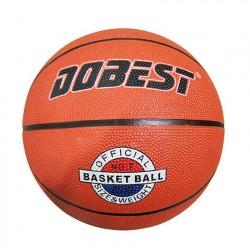 Мяч баскетбольный DOBEST RB7-0886 р.7 резина, оранж.