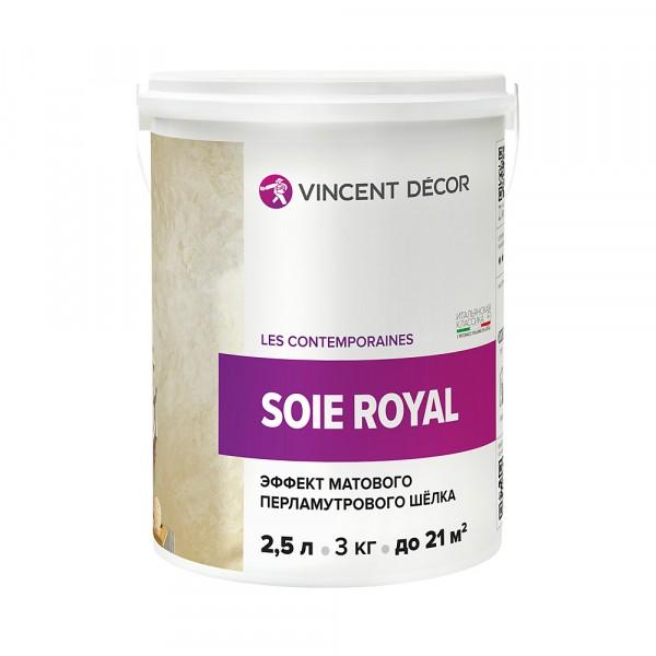 декоративное покрытие prorab покрытие vincent decor soie royal декоративное 2,5л