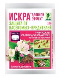 Средство защитное ИСКРА ТАБ от комплекса вредителей, колорадского жука, тли,белокрылки,трипсов 10гр.