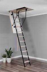 Лестница чердачная комбинированная, Oman Stallux, 70 x 120 x 280 см