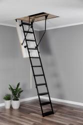 Лестница чердачная металлическая, Oman Metal T3, 60 x 120 x 280 см