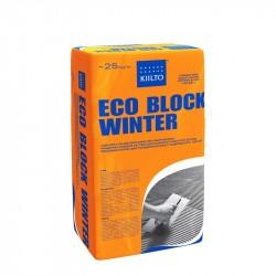 Клей для блоков Kiilto Eco Block Winter, 25 кг