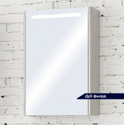 Шкаф зеркальный Акватон СИЛЬВА 50см Дуб Фьорд 1A215502SIW6L