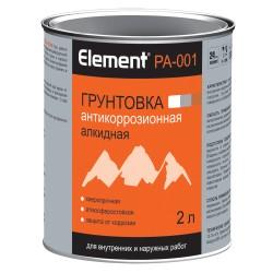 Грунтовка элемент PА-001 алкидная 2л серая