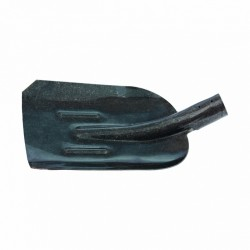 Лопата совковая с ребрами жесткости, рельсовая сталь, без черенка (АМЕТ) СИБРТЕХ 61471