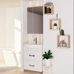 Полка мебельная квадратная 240х240х124 (Дуб сонома)