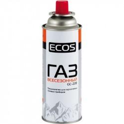 Газ в портативном баллоне Экос GC-220 /цанговый, 220г/