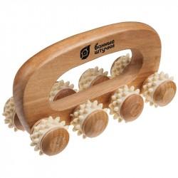 Массажер деревянный универсальный Банные штучки ВЕЗДЕХОД 14*7*9см 40054