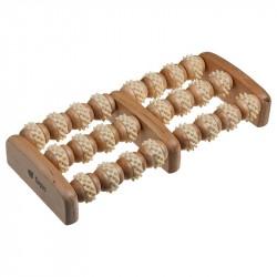 Массажер деревянный для ног, роликовый Банные штучки 20*16*5см 40051