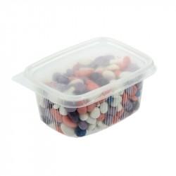Набор-9 разноцветной гальки для миниаквариумов в пластиковой упаковке с подвесом РЫБКА