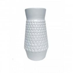 Ваза керамическая Катрина белая 18см CER-35