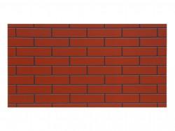 Плита ЦСП структурированная сорт 1, цвет терракот-графитовый, 1125 х 622 х 12 мм