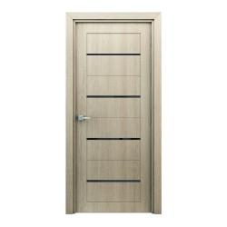 Полотно дверное Остекленное Орион,3D Финиш-пленка 2000х800мм,капучино