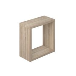 Полка мебельная квадратная 270х270х124 (Дуб сонома)