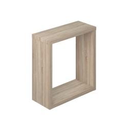 Полка мебельная квадратная 300х300х124 (Дуб сонома)