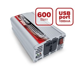 Автомобильный инвертор 24/220V AVS IN-600W-24
