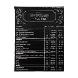 Магнит-Шпаргалка Время приготовления мяса 11*8,5см Marmiton 16172