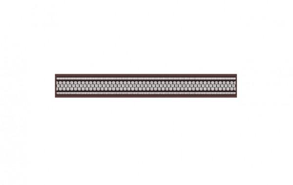 керамическая плитка нефрит керамика кензо зеленый 7 5х40 бордюр бордюр эрмида коричневый (05-01-1-56-03-15-1020-2) 5х40