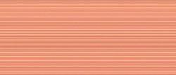 Плитка настенная Cersanit Sunrise 20*44 оранжевая /71,4/