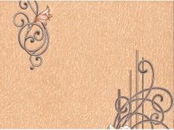 Обои С6БР Гармония-2 симплекс 0,53*10,05м цветы, коричневый