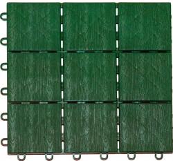 Плитка садовая декоративная 30*120см /4шт/ зеленый